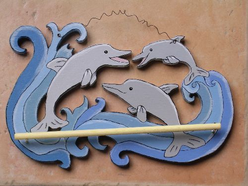 porte-colliers dauphins