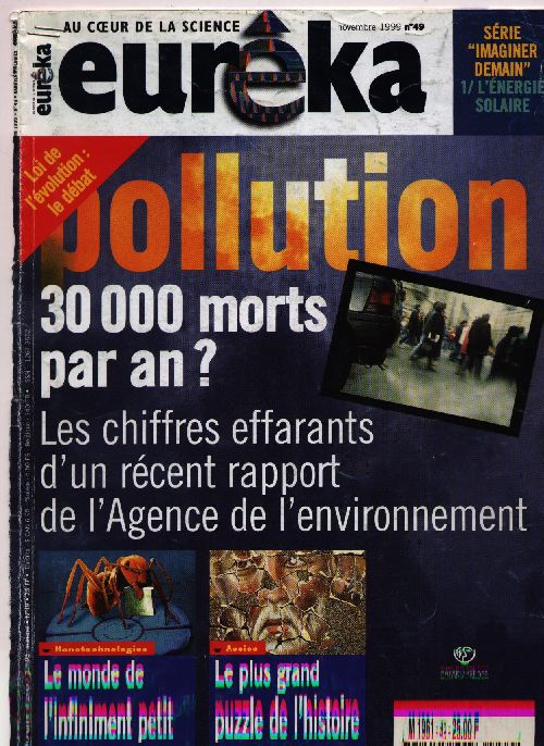 Pollution atmosphérique (magazine Eureka - 11/1999)