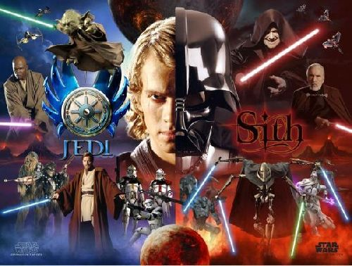 Photo résumant la saga Star Wars