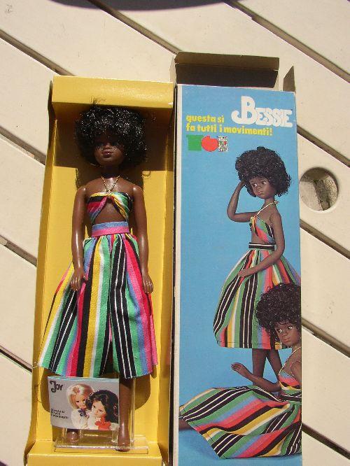 Bessie dos de la boite / Bessie back of the box