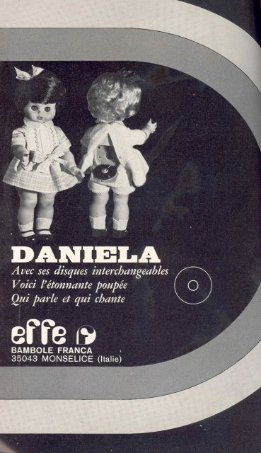 Daniela par Effe 1970
