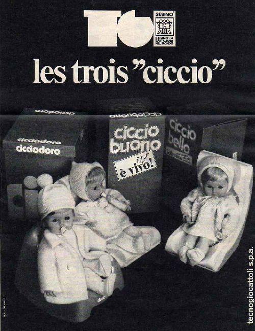 Ciccio par Sebino 1974