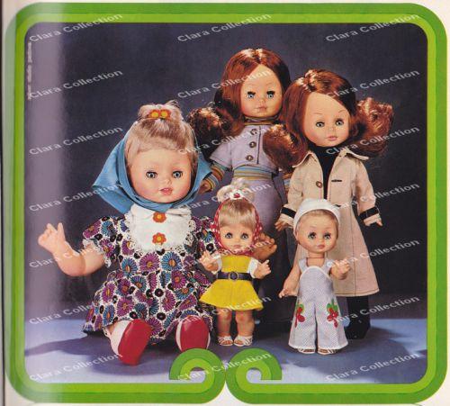 Effe- Les poupées Franca - 1972