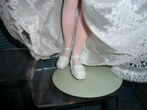 Chaussures Corinne et ses bas (tenue mariée)