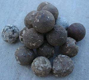 Balles de mousquet