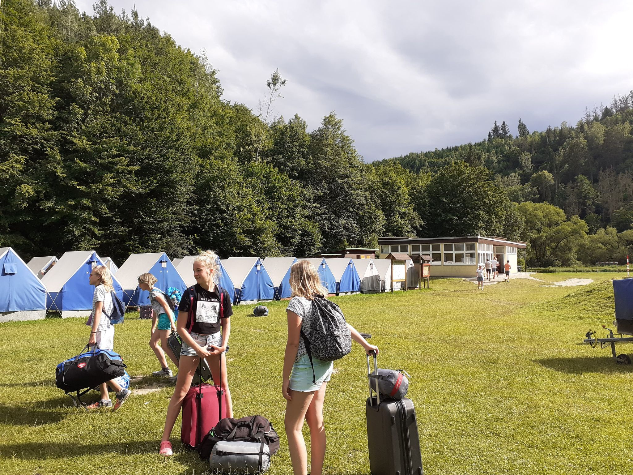 Campement d'été
