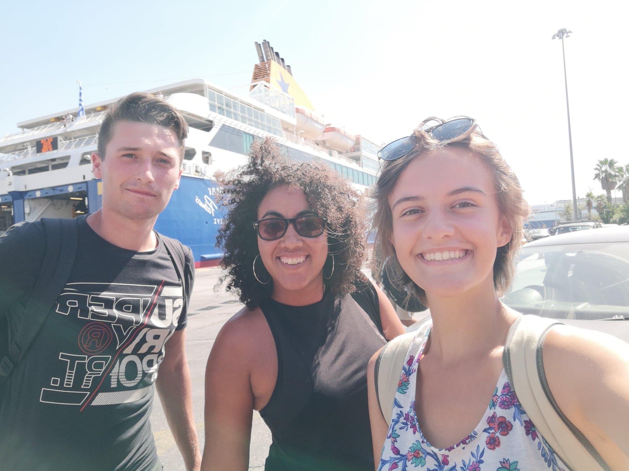 Quand tu vas à Santorin :)