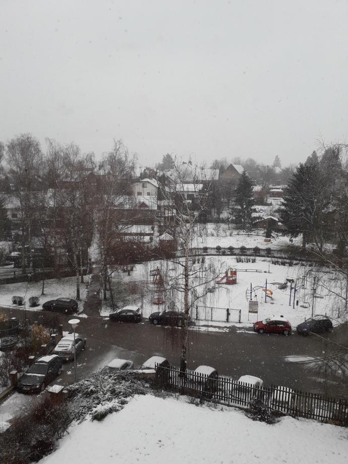 Vysoke Myto sous la neige