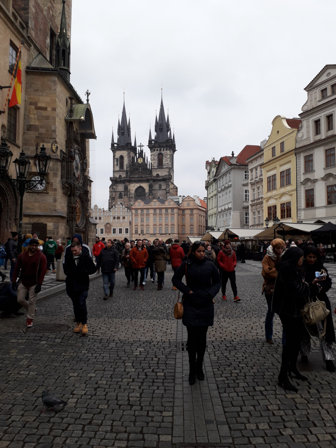 Mon week end à Prague