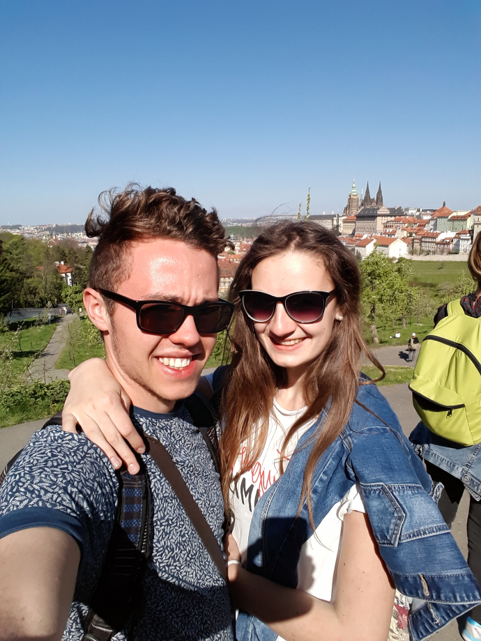 Le couple Franco-Tchèque :)