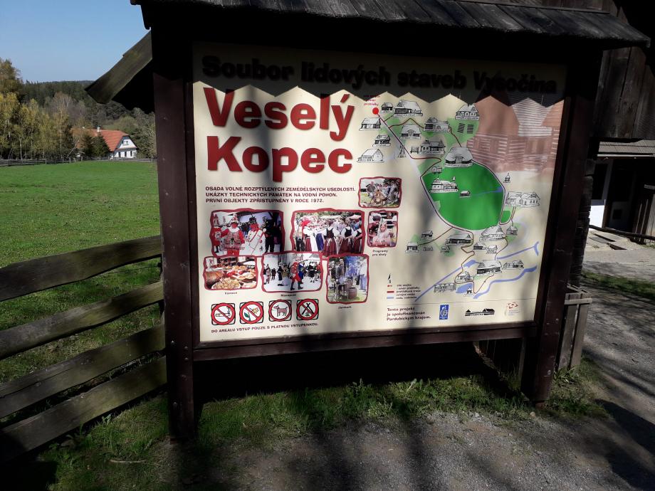 Le village de Vesele Kopec : Durant le jour de Pâques, nous avons pu découvrir les traditions d'autre fois, à travers une visite au cœur de petites fermes.