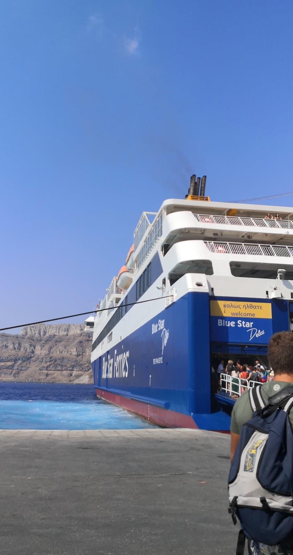 Ferry Athènes-Athinios