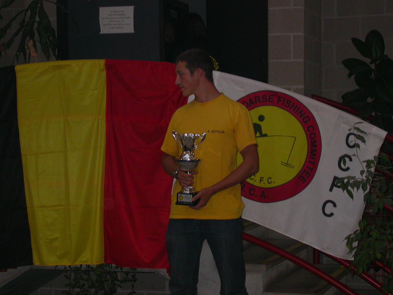 pierre 3ème Champ Belgique Jeunes .JPG
