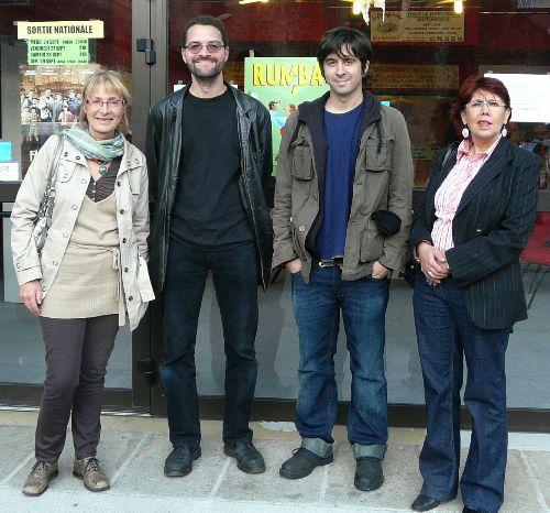 Jacqueline, Olivier, Eduardo et Anna Maria