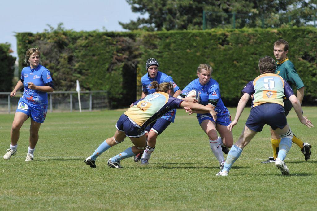 ovalie caennaise le rugby au f u00e9minin