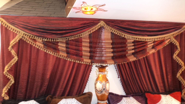 rideaux l 39 art marocain. Black Bedroom Furniture Sets. Home Design Ideas