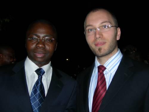 Frédéric Joël AIVO et Jean-Emmanuel MEDINA