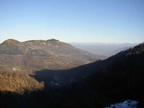 Rte du Col de L'Escrinet depuis PRIVAS