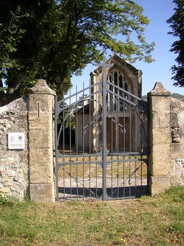 La chapelle de St Ferreol à Crest