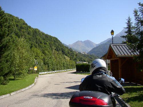 On y est allé en moto