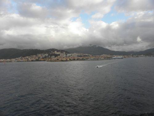 Baie d'Ajaccio ,arrivée du pilote