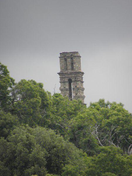 Ancienne abbaye en ruine d'Orezza