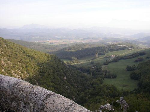 vallée vers Beaufort sur Gervanne