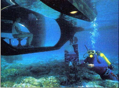 Exposition Sous-Marine à Port Cros