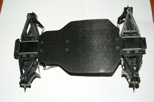 Carbon chassis below