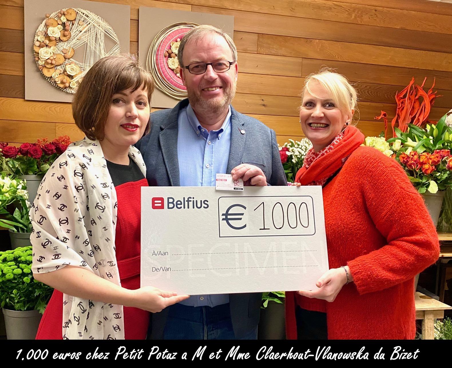 1000€ au Petit Potuz
