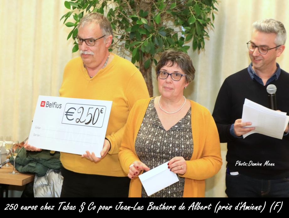 250€ chez Tabac § Co Bizet