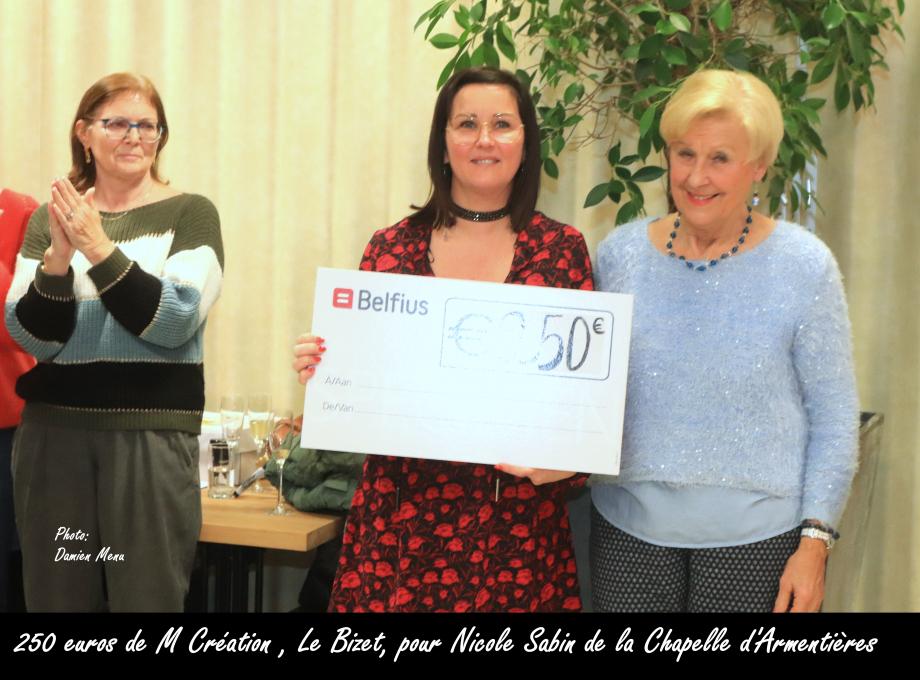 250€ de M Création Le Bizet