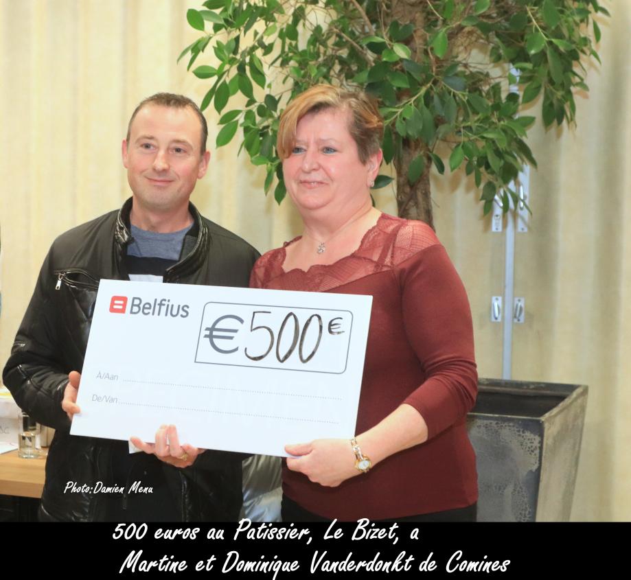 500€ Au Patissier, Le Bizet