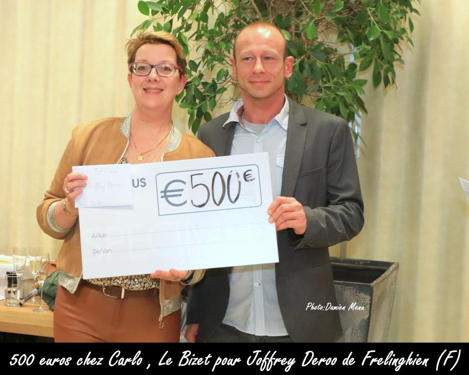 500€ cher Carlo Le Bizet