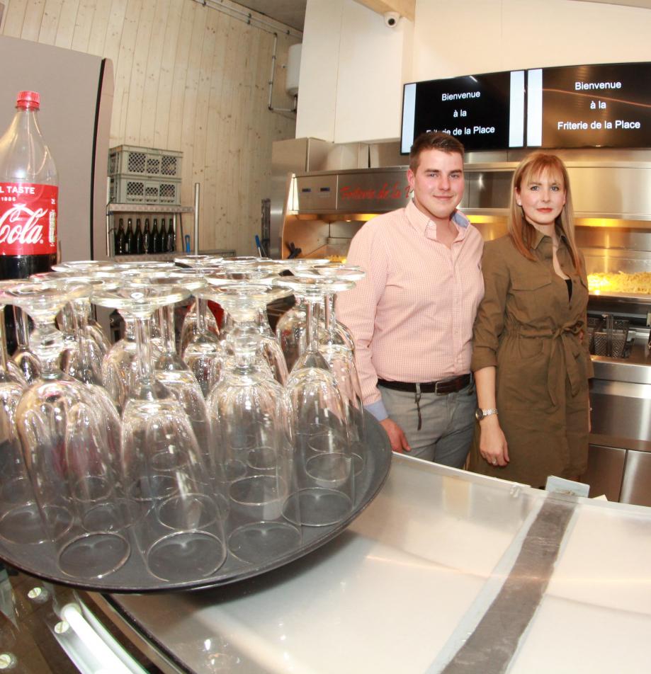 Ophélie Donze et Mathias Verhelst sont des responsables heureux.