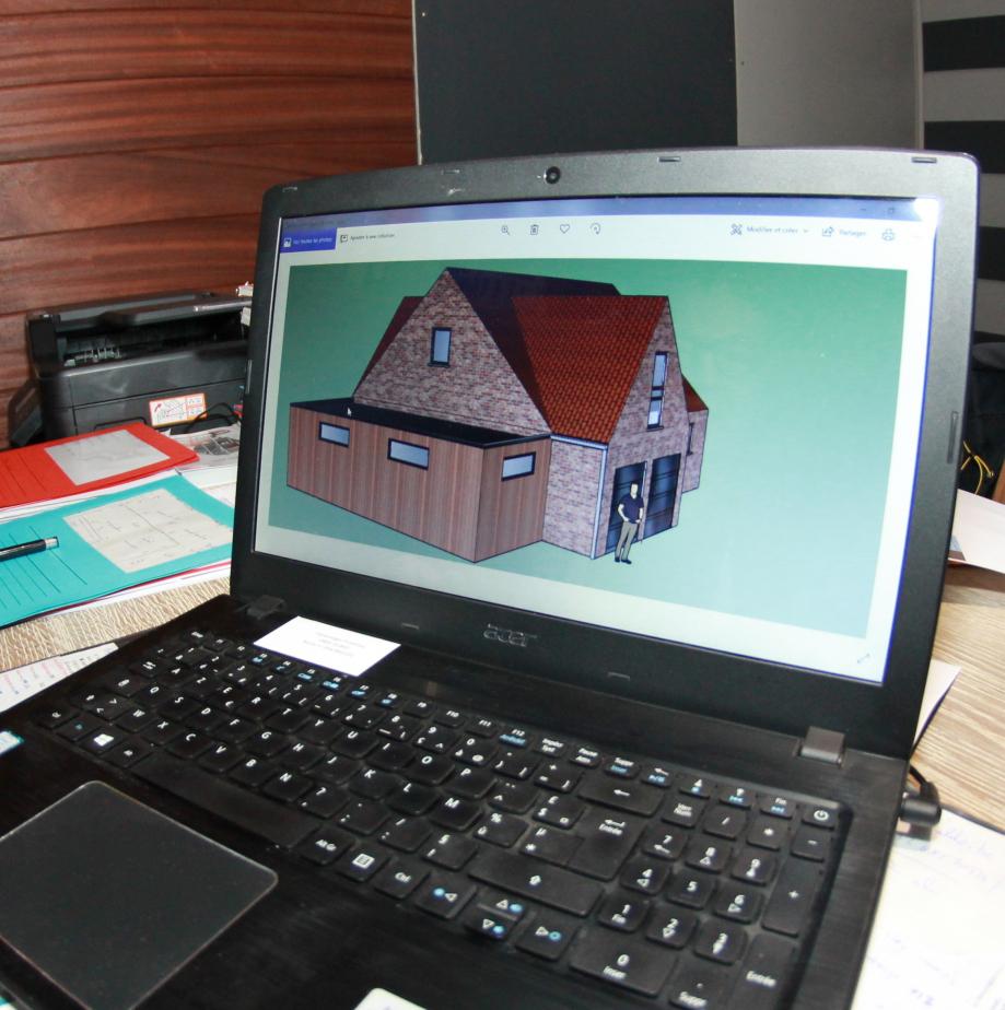 Selon le désir du client BATILEX conçoit l'extension