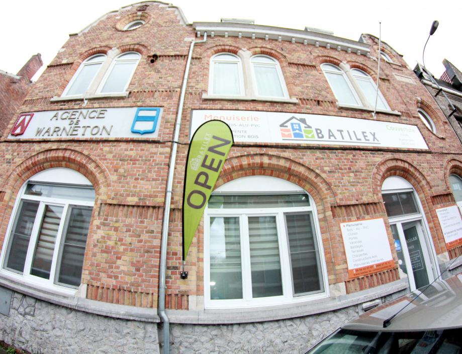 BATILEX se trouve dans l'ancienne banque ING, au 31 de la rue d'Ypres a Warneton