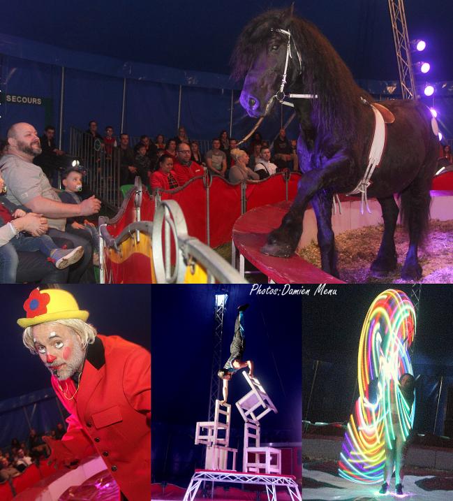 Le cirque reste un joli spectacle, un beau divertissement pour petits et grands enfants.