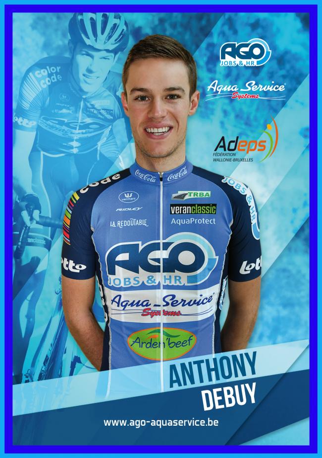 Anthony Debuy dispute actuellement une course a étapes au Luxembourg. L'épreuve se termine demain dimanche. Il est actuellement 73ème au général.