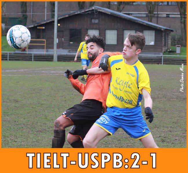 A Tielt(notre cliché) les ploegsteertois/bizétois ont tenu le match nul jusque la 84ème minute
