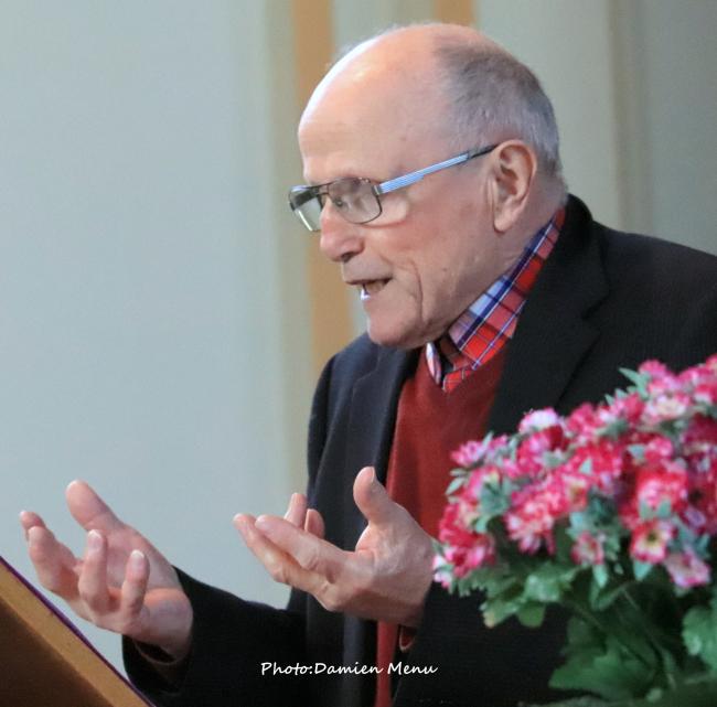 Le discours de l'abbé André Cardinael a déjà été vu plus de 1.000 fois en moins de 24h....