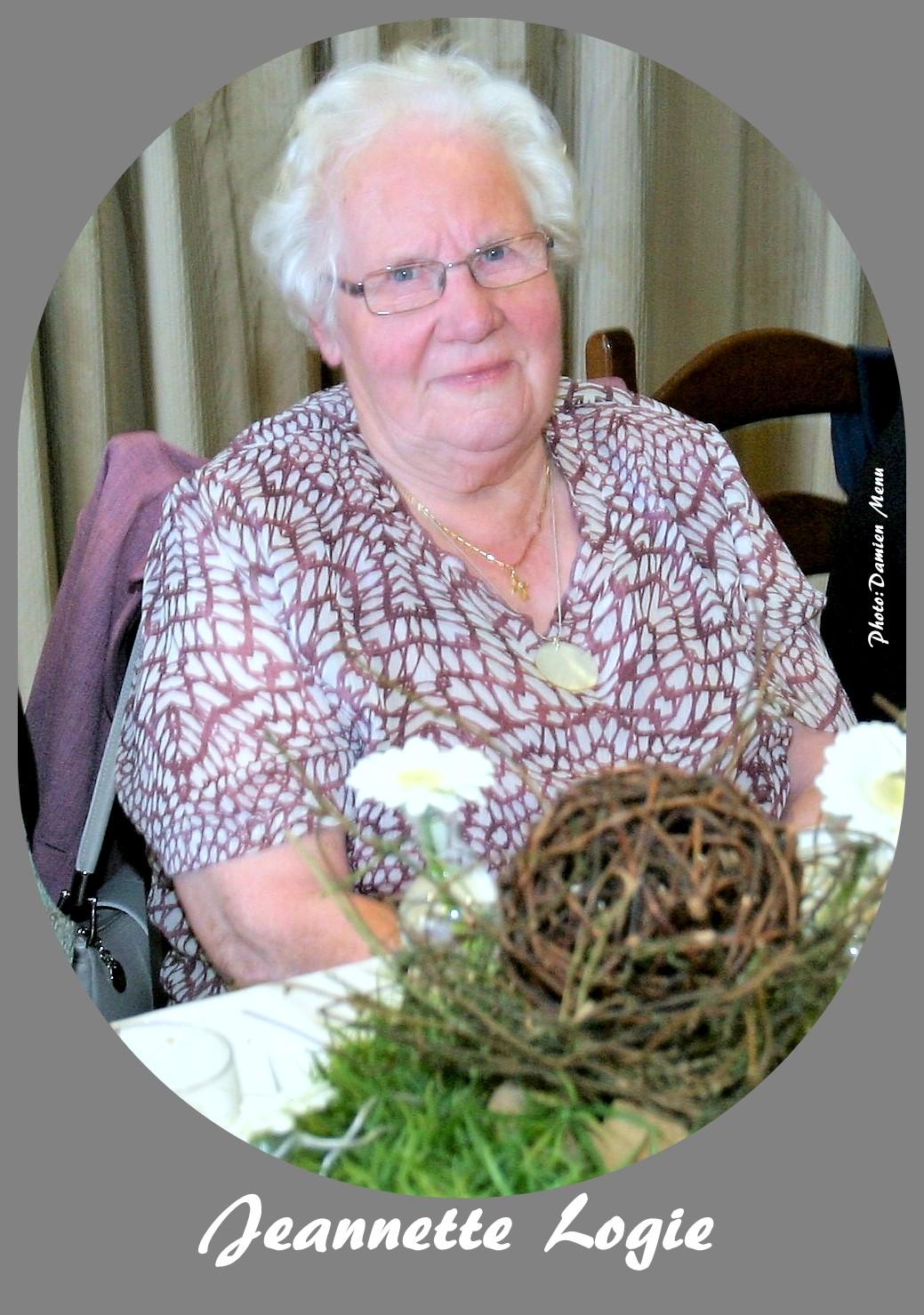 Jeannette Logie  avait 90 ans.