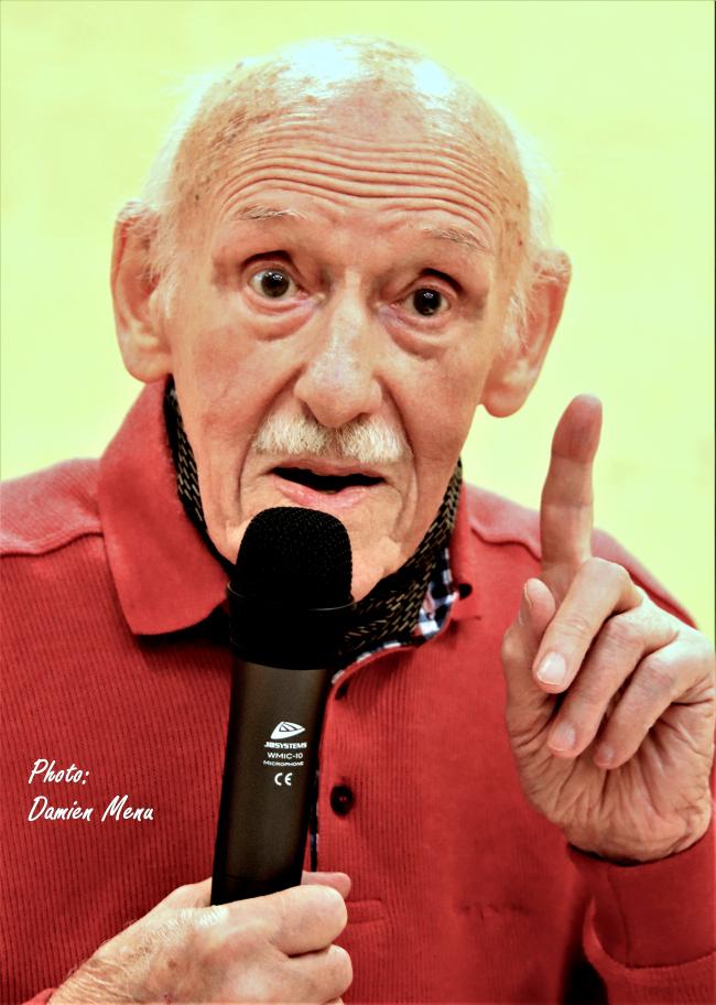 Paul Sobol, l'un des ultimes rescapés d'Auschwitz n'est plus.