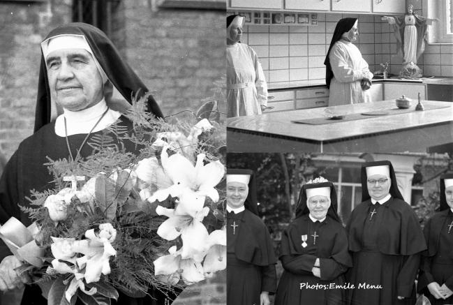 Autrefois les religieuses ont rendu d'immenses services a la population.
