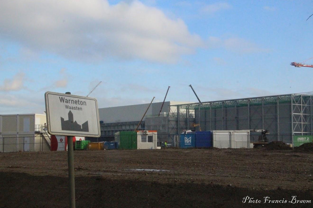 L'entreprise Clarebout(Potatoes) de Warneton prend de plus en plus d'ampleur..