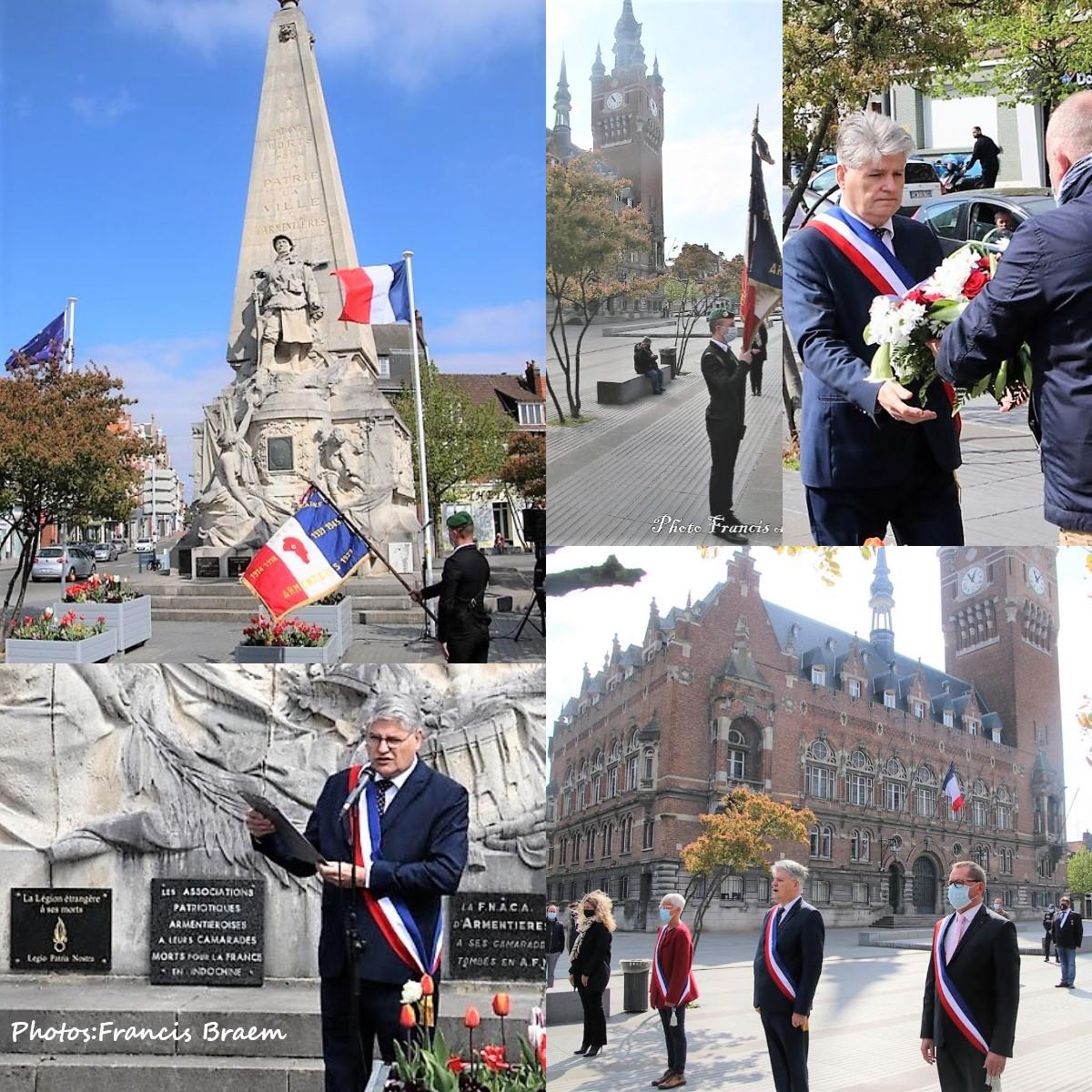 A Armentières, ce dimanche matin, un hommage a été rendu à tous les déportés victimes des génocides ou de la répression.