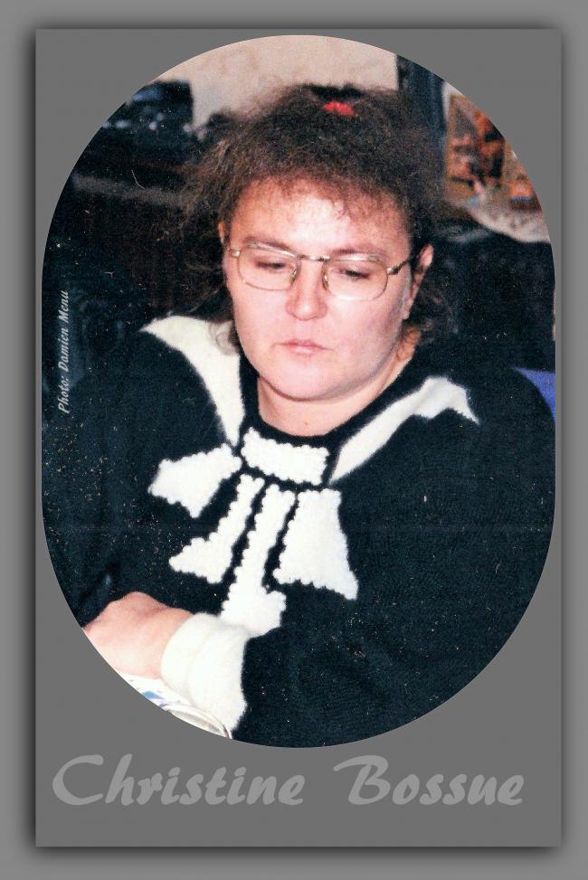 Le Bizet, le décès de Christine Bossue.