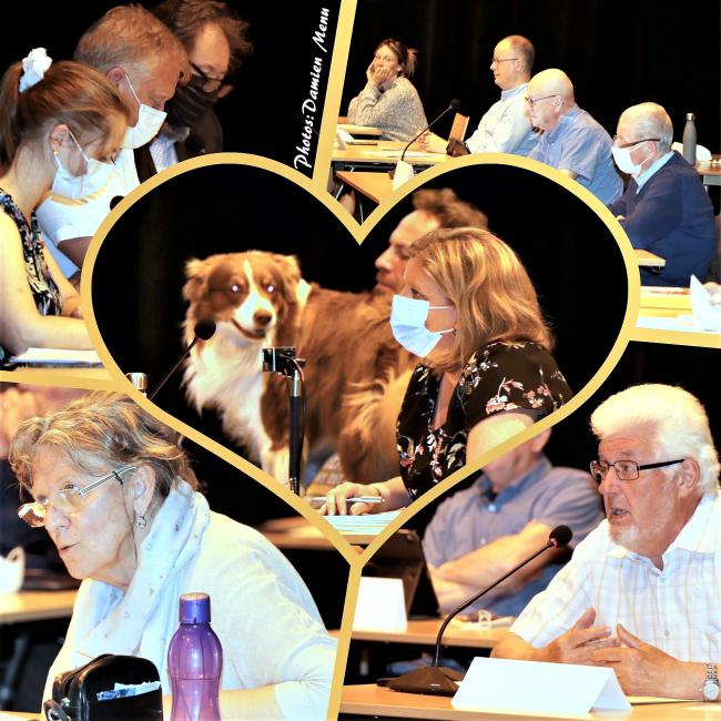 Conseil communal de Comines-Warneton en présentiel. Une reprise qui avait du chien ...