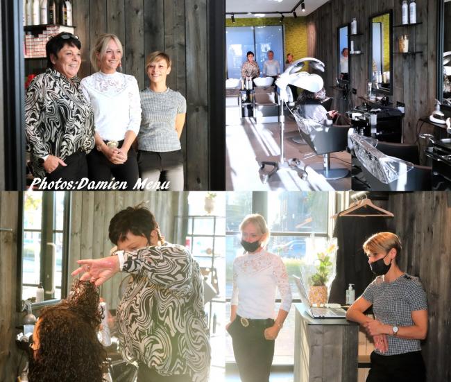 Nouveau à Ploegsteert  Salon de coiffure pour Dames/Enfants /Hommes.  Véronique Bouquet ainsi que son personnel sont à votre service.