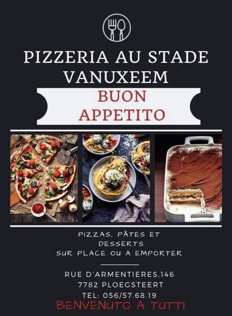 Pizzas café du stade 2